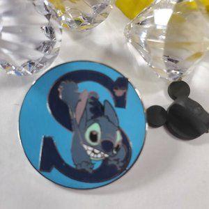4/$25 Disney Parks hidden Mickey S Stitch Pin
